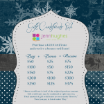 GiftCertificateSale